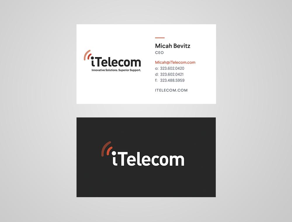 Telecom Business Cards