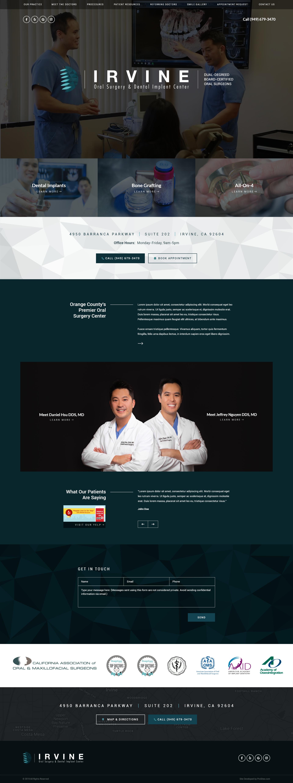 Oral Surgeon Website