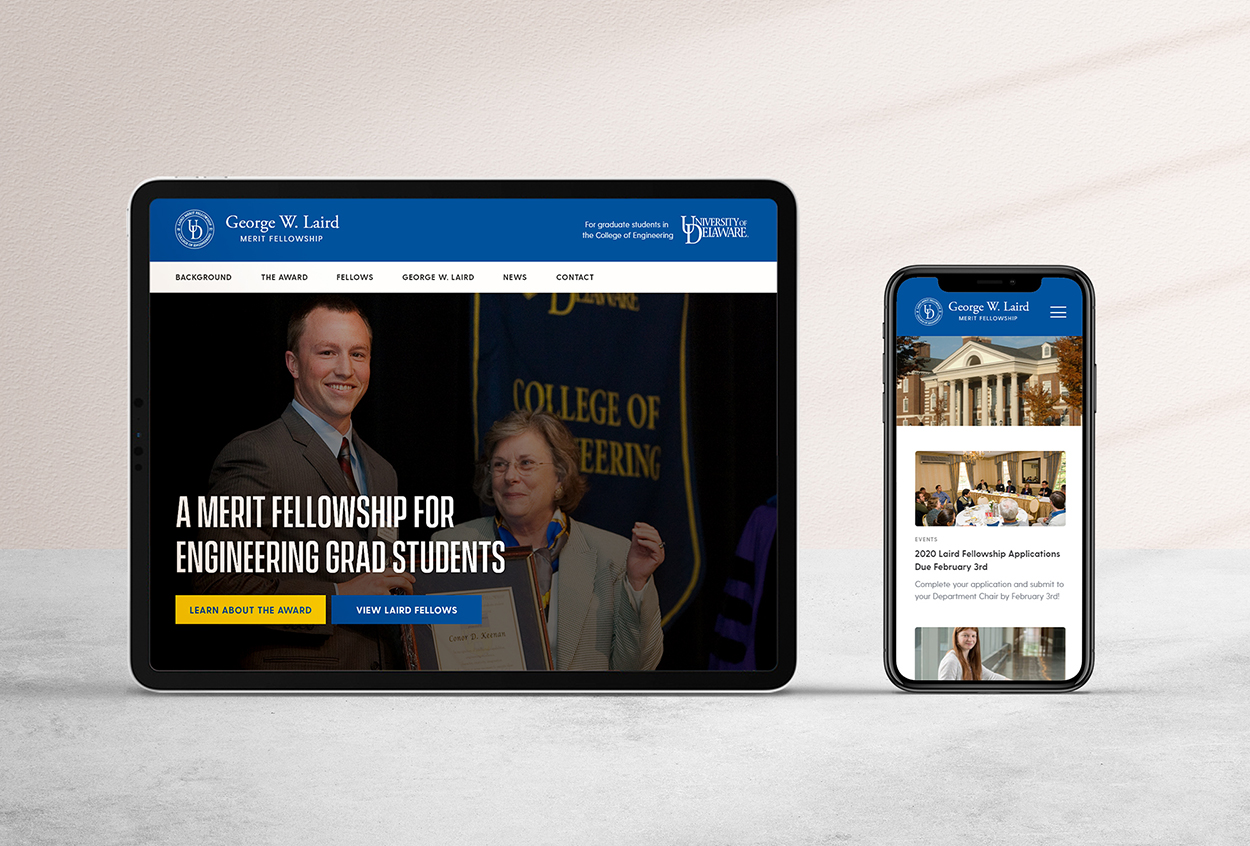 Laird Fellowship Website Redesign