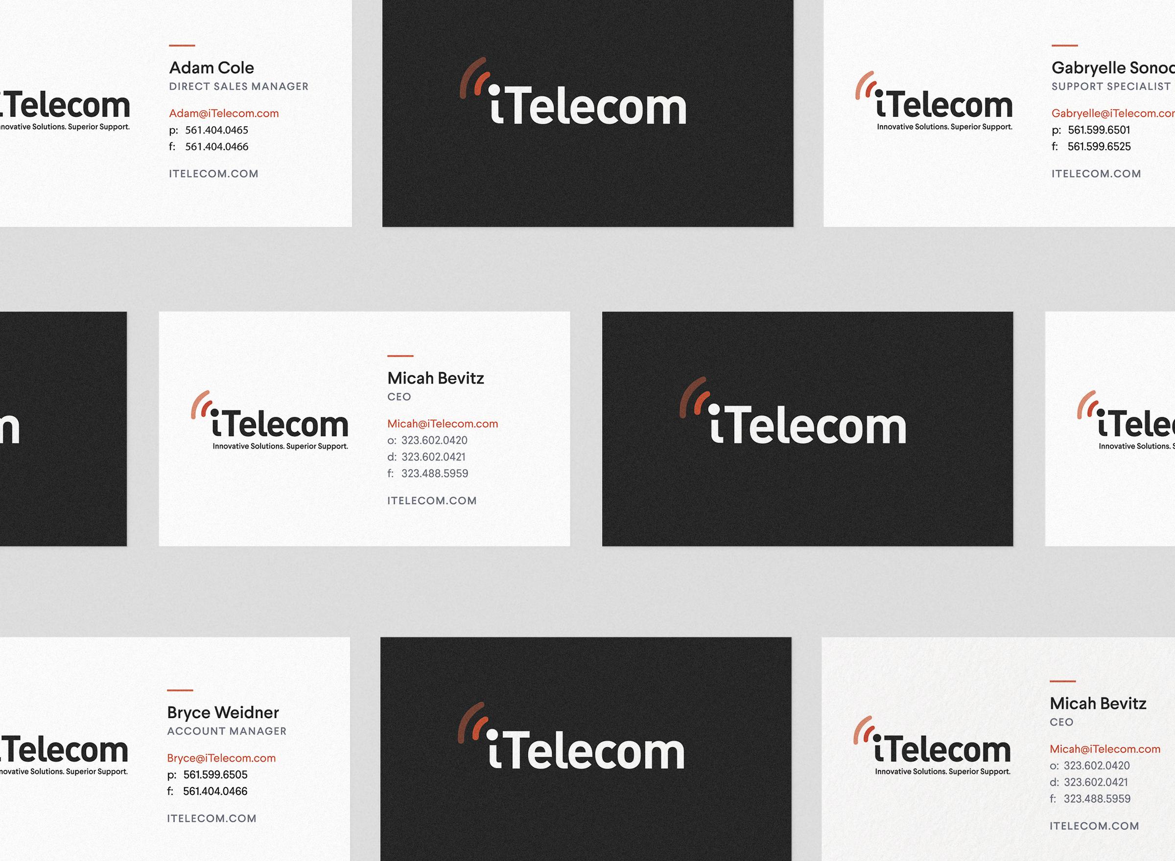 iTelecom Business Cards